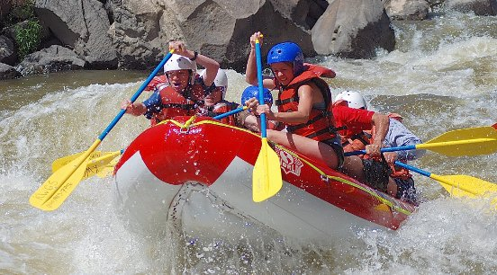 Surrender, White-Water Rapids Style